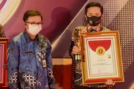 Pemkot Makassar raih penghargaan kota terinovatif dari Kemendagri