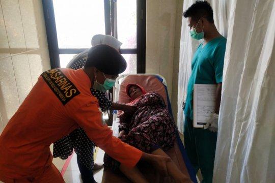 Nenek 70 tahun terapung di perairan Ternate-Tidore, ditemukan Tim SAR