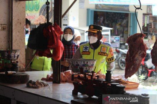Polres Sukabumi Kota sidak persediaan pangan jelang Tahun Baru 2021