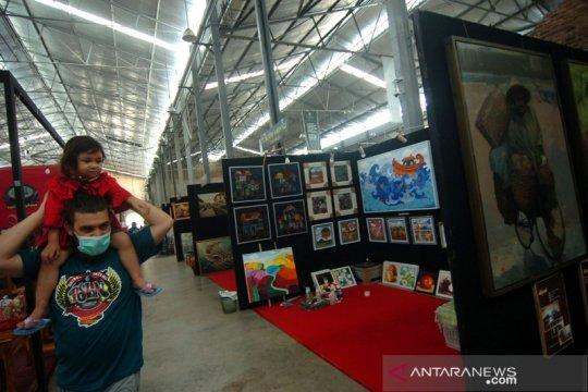 Waskita Karya dukung Pasar Seni Lukis di area Tol Pejagan-Pemalang