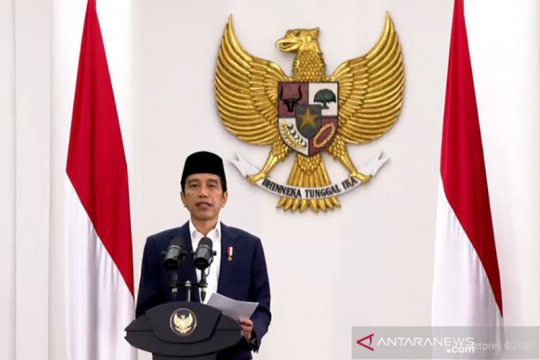 Presiden Jokowi lantik enam menteri baru pada 23 Desember 2020