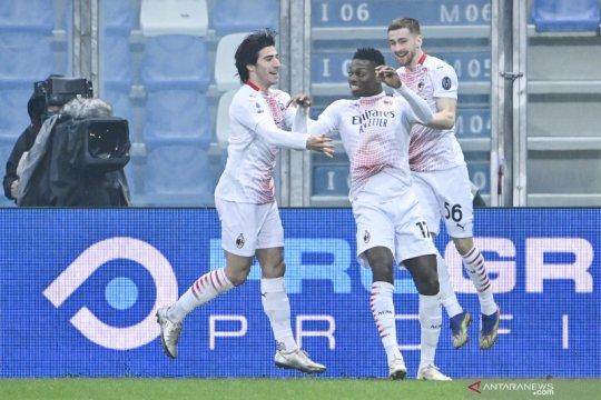 Rafael Leao pecahkan rekor gol tercepat di Liga Italia