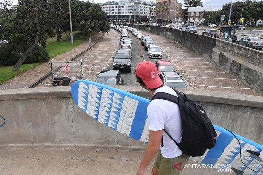Lantatur tes COVID-19 setelah peningkatan kasus di Sydney