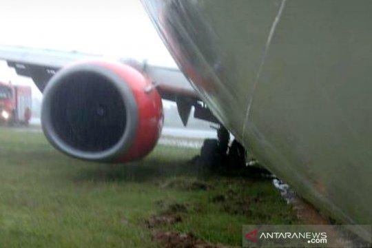 Pesawat Lion Air JT173 tergelincir di Bandara Radin Inten II