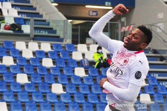 Sassuolo vs AC Milan : Rafael Leao cetak gol tercepat Liga Italia, 6 detik