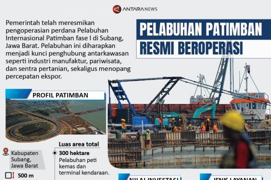 Pelabuhan Patimban resmi beroperasi