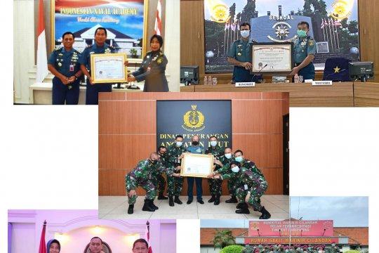 Lima satker TNI AL raih predikat zona integritas WBK/WBBM 2020