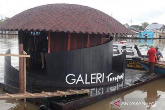 Banjarmasin tambah objek wisata galeri terapung dan rumah lanting