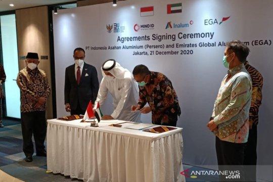 Inalum dan perusahaan UAE teken kontrak lisensi teknologi