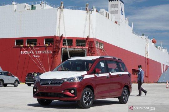 Suzuki ekspor All New Ertiga lewat Pelabuhan Patimban Subang