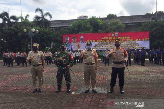 Ada 10 Pos Pengamanan pada Operasi Lilin Jaya 2020 di Jaksel