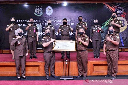 Kejati DKI raih penghargaan zona bebas korupsi