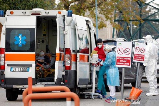 Italia temukan satu pasien terinfeksi varian baru corona Inggris