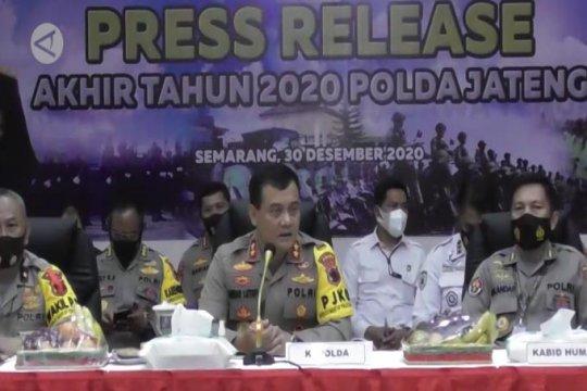 218 personel Polda Jateng positif COVID-19, 33 meninggal dunia