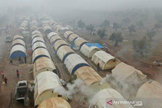Kondisi kamp pengungsi Suriah