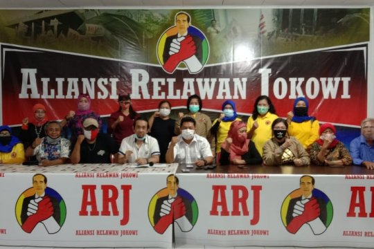 "Aliansi Relawan Jokowi apresiasi ""reshuffle"" kabinet oleh Presiden"
