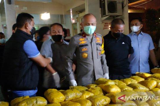 201 kg sabu disita di Hotel Wir Petamburan