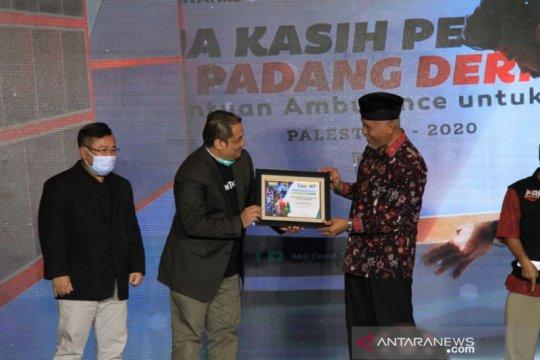 Padang terpilih sebagai kota dermawan