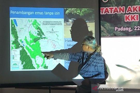 Tutupan hutan alam Sumbar berkurang 31 ribu hektare sejak 2017