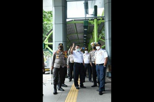 Kakorlantas: Penerapan prokes di Stasiun Gambir bagus