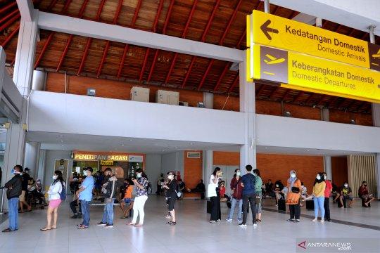 Bandara Bali perketat protokol kesehatan selama libur Natal-Tahun Baru
