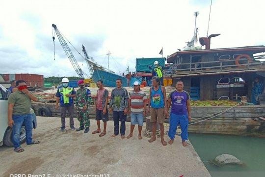 Kapal bawa ribuan tabung elpiji tujuan Belitung tenggelam