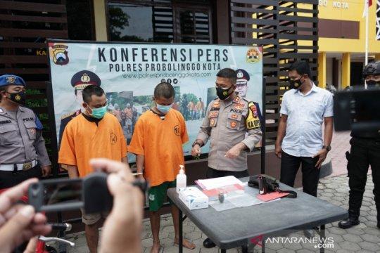 Polisi tangkap pelaku pelempar bom bondet di PN Kota Probolinggo