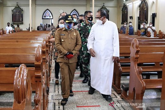 Forkopimda Kota Malang cek kesiapan gereja jelang Natal