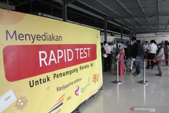 Layanan tes cepat Antigen di Stasiun Yogyakarta