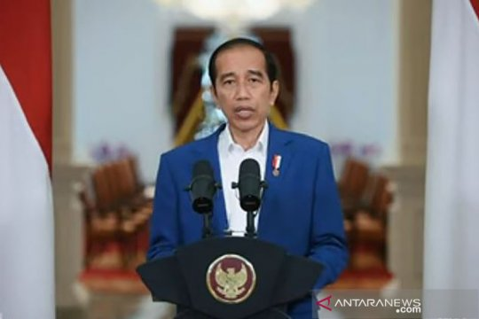 Jokowi beberkan faktor-faktor pendorong pemulihan ekonomi di 2021