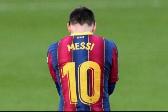 Barcelona istirahatkan Lionel Messi lawan Eibar