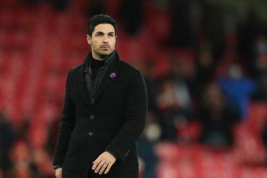 Arteta: terlalu dini coret Arsenal dari persaingan empat besar