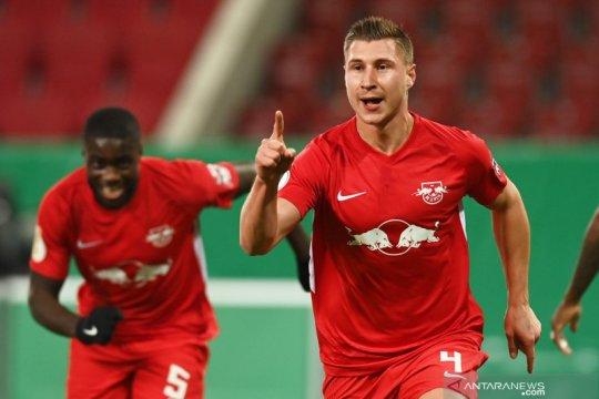 Leipzig menangi duel dua tim strata tertinggi pada Piala Jerman