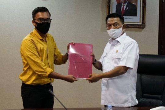 Moeldoko terima kunjungan BEM Nusantara