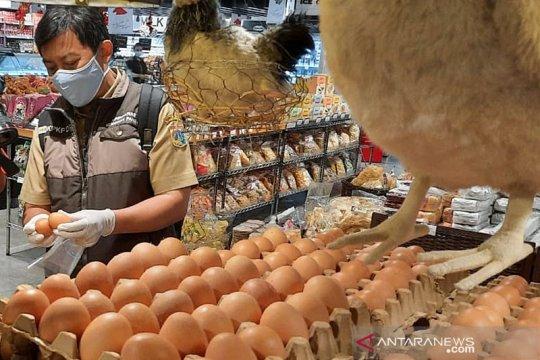 Harga telur ayam murah ada di 15 pasar di DKI Jakarta