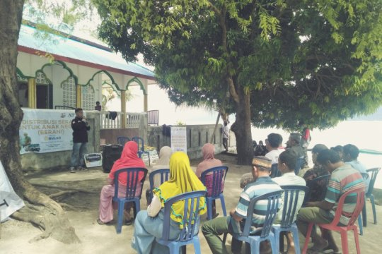 ACT-MRI Maluku kembali salurkan bantuan untuk warga Pulau Tiga