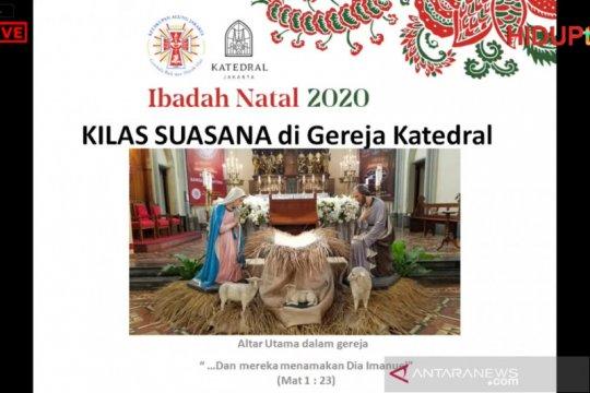 Gereja Katedral Jakarta angkat nuansa nusantara pada Natal 2020