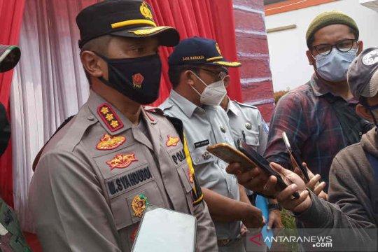 Polresta Cirebon pastikan tempat istirahat tol diberlakukan pembatasan