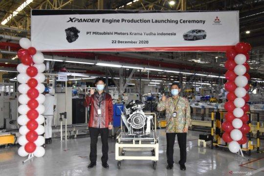 Pabrik MMKI mulai produksi mesin Xpander, TKDN sampai 80 persen