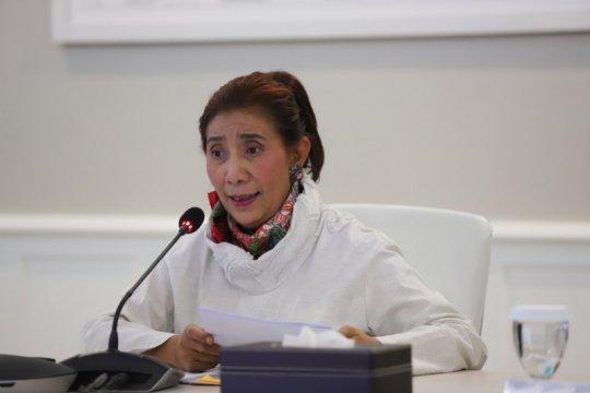 Berpesan semoga amanah, Susi ucapkan selamat kepada Menteri KKP baru