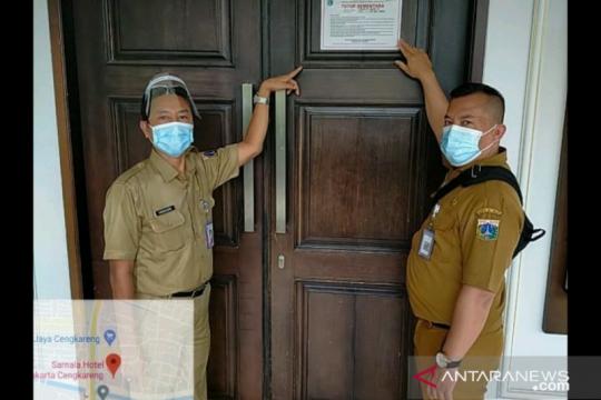 Langgar prokes, Jakarta Barat beri sanksi progresif Hotel Samala