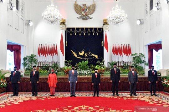 Politisi PDIP harap menteri baru adaptasi ritme kerja cepat kabinet