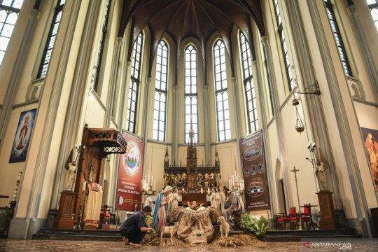 Durasi dan jemaat Misa Natal di Gereja Katedral Jakarta dibatasi