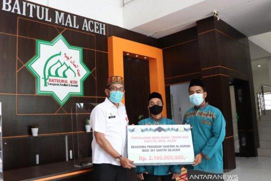 361 santri tahfiz di Aceh diberikan beasiswa berkelanjutan