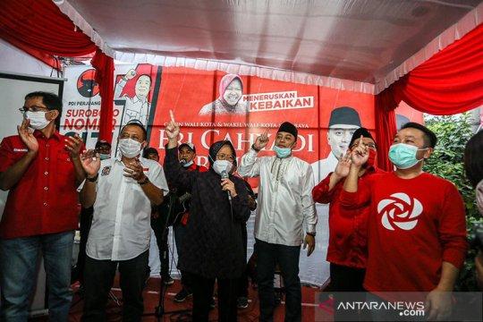 Perkara sengketa Pilkada Surabaya tak diterima MK karena ambang batas