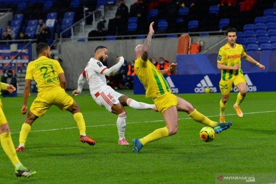 Lyon, Lille, dan PSG kompak raih tiga poin dari lawannya masing-masing