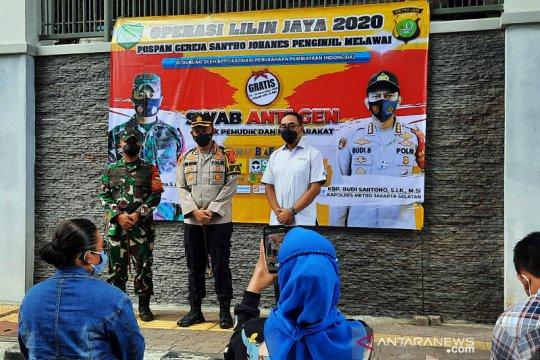1.400 personel gabungan amankan Natal Tahun Baru di Jakarta Selatan