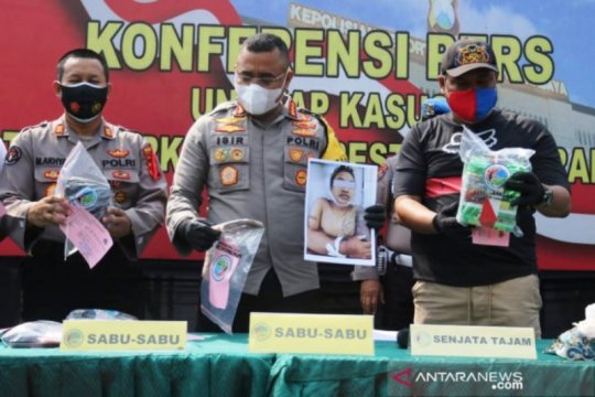 Polisi Surabaya tembak mati pengedar narkoba