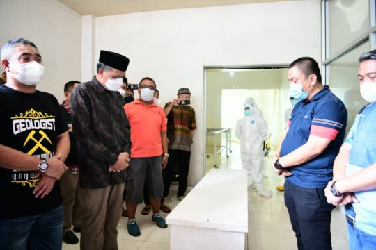 Gubernur lepas jenazah Thoriq Husler untuk dimakamkan di Luwu Timur