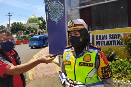 Jalur Puncak-Cianjur tertutup bagi  kendaraan berat jelang Natal